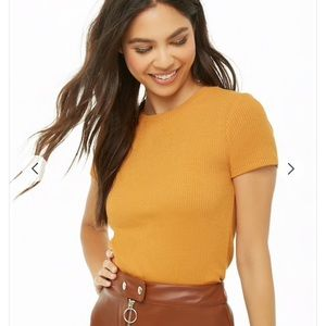 Forever 21 ribbed top sz M